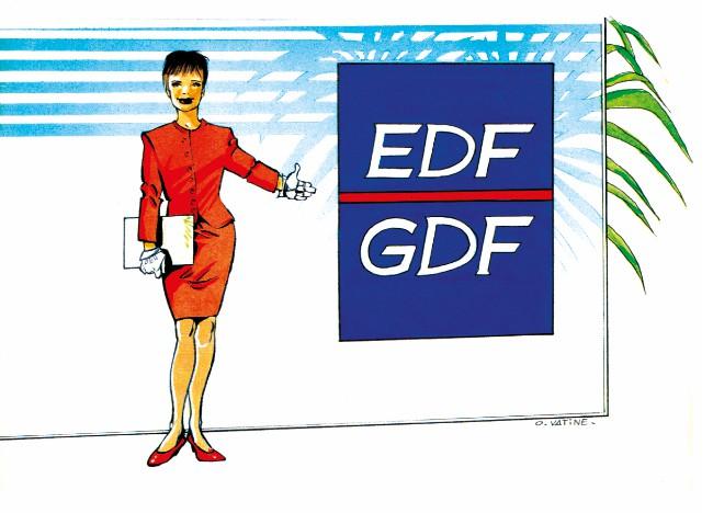 Couverture de EDF-GDF