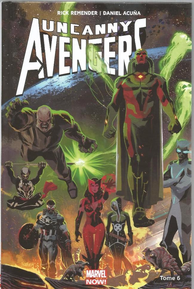 Couverture de Uncanny Avengers (Marvel Now!) -6- Contre-Evolution