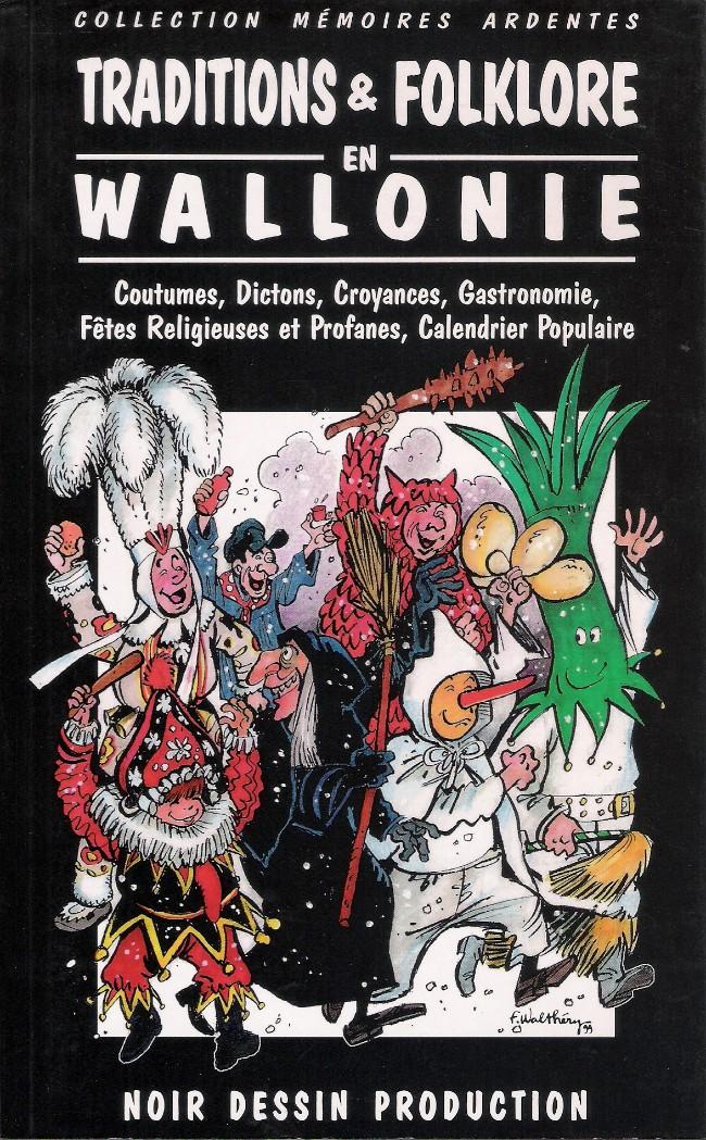 Couverture de (AUT) Walthéry -30- Traditions & Folklore en Wallonie