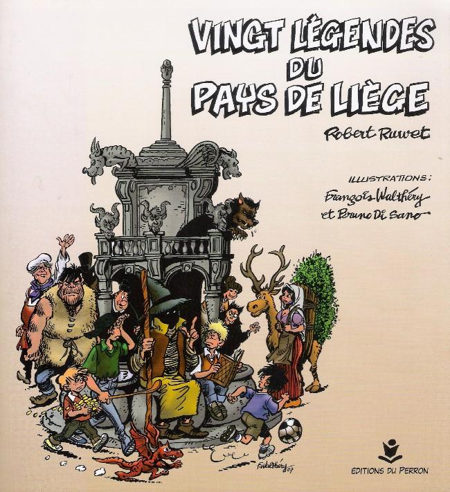 Couverture de (AUT) Walthéry -35- Vingt légendes du Pays de Liège