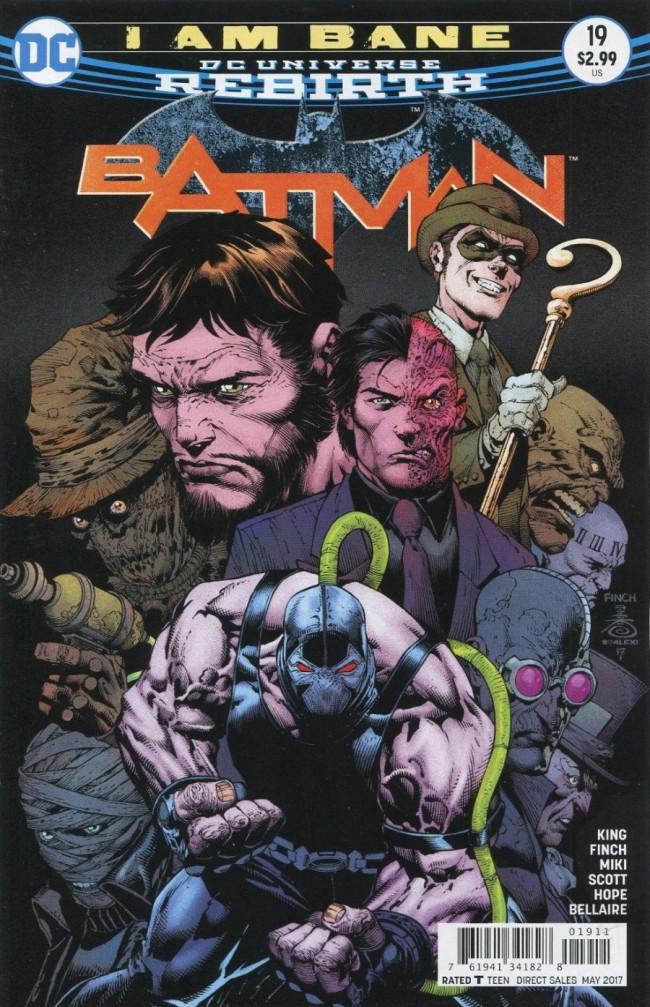 Couverture de Batman (2016) -19- I am Bane, Part Four