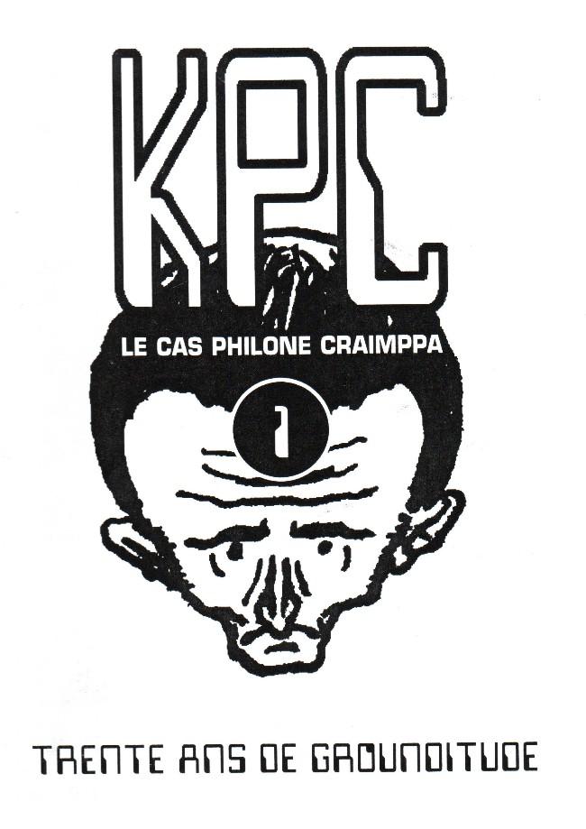 Couverture de KPC, Le cas Philone Craimppa -1- Trente ans de grounditude