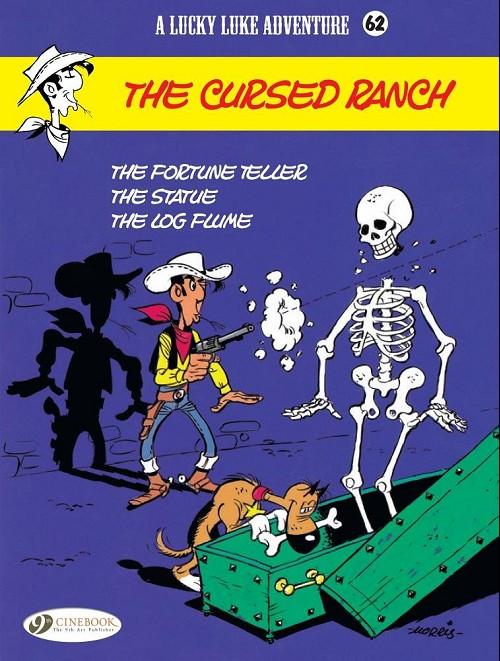 Couverture de Lucky Luke (en anglais) -5662- The cursed ranch