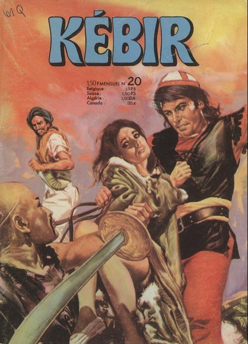 Couverture de Kébir -20- Le compagnon de l'enfer