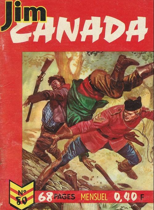 Couverture de Jim Canada -80- Terre des loups