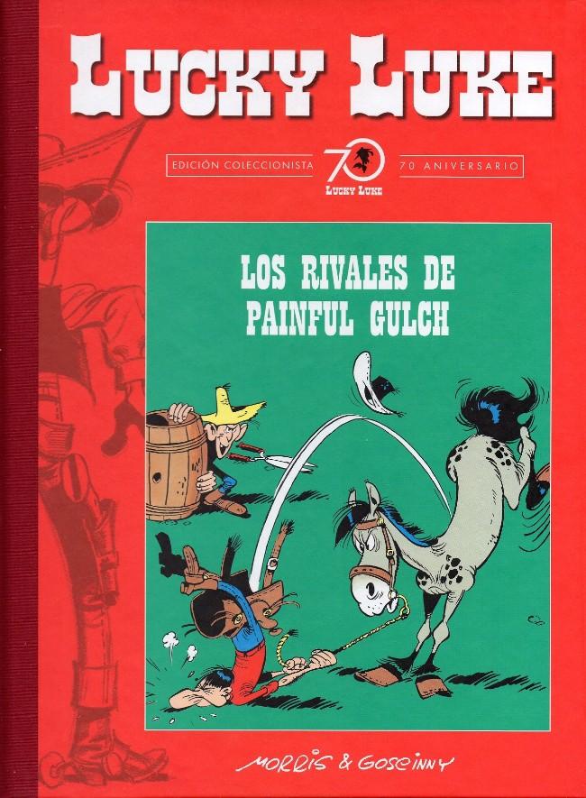 Couverture de Lucky Luke (Edición Coleccionista 70 Aniversario) -8- Los rivales de Painful Gulch