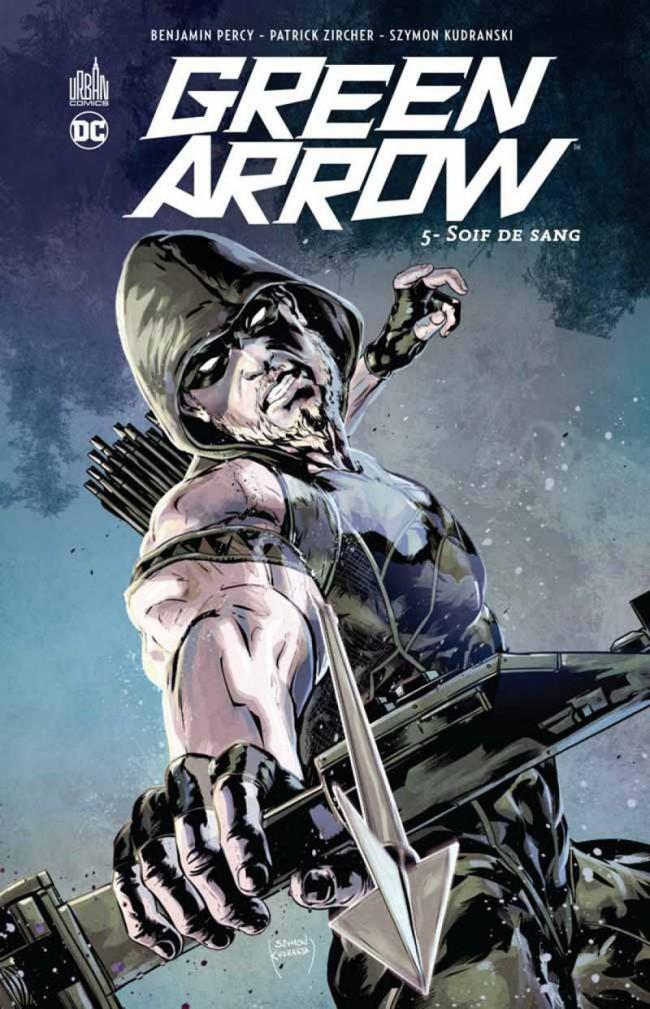 Couverture de Green Arrow (DC Renaissance) -5- Soif de sang