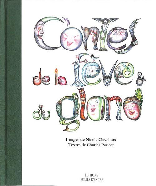 Couverture de (AUT) Claveloux - Contes de la fève et du gland