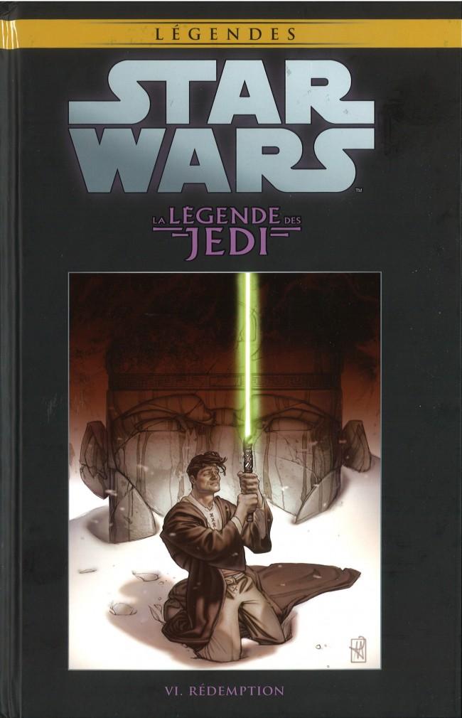 Couverture de Star Wars - Légendes - La Collection (Hachette) -369- La Légende des Jedi - VI. Rédemption