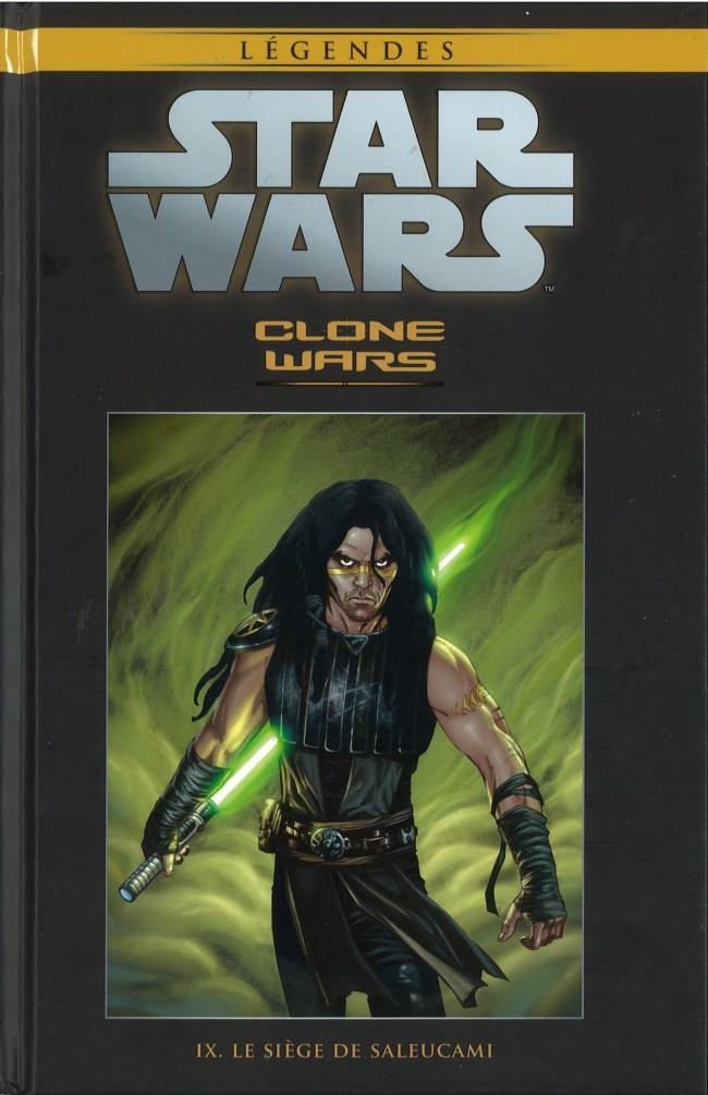 Couverture de Star Wars - Légendes - La Collection (Hachette) -3734- Clone Wars - IX. Le Siège de Saleucami