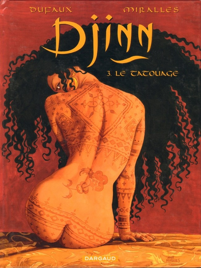 Couverture de Djinn -3- Le tatouage