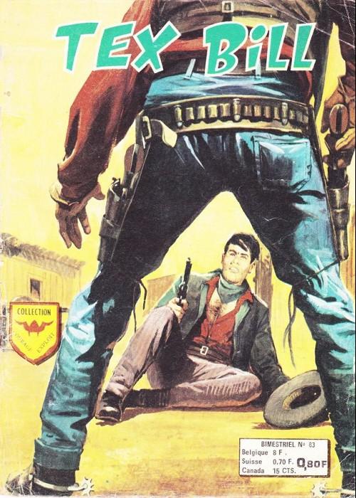 Couverture de Tex Bill -83- Passages clandestins
