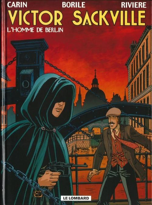 Couverture de Victor Sackville -18- L'homme de Berlin