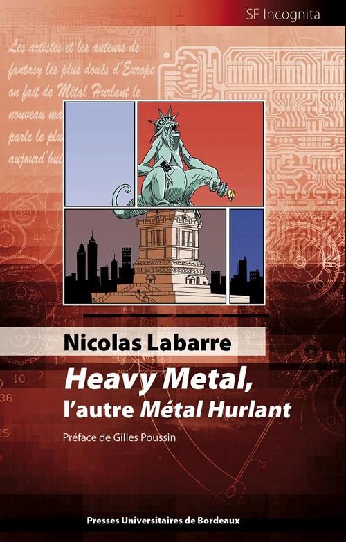 Couverture de (DOC) Études et essais divers - Heavy metal, l'autre métal hurlant
