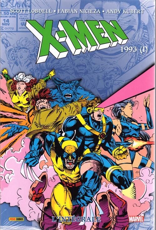 Couverture de X-Men (L'intégrale) -32INT- L'intégrale 1993 (I)