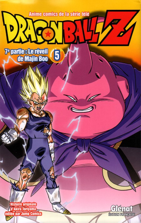 Couverture de Dragon Ball Z -32- 7e partie : Le Réveil de Majin Boo 5