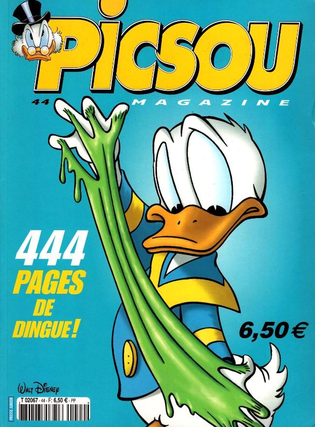 Couverture de Picsou Magazine -Rec44- (2e série) Recueil n°44 (n° 382-385-386)