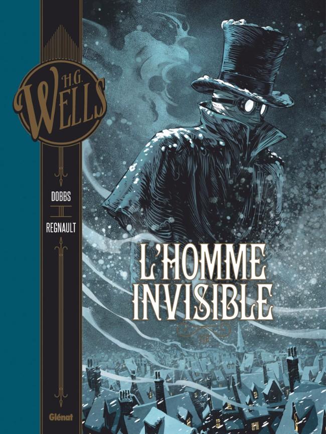 Couverture de L'homme invisible (Dobbs/Regnault) -1- L'Homme invisible 1/2