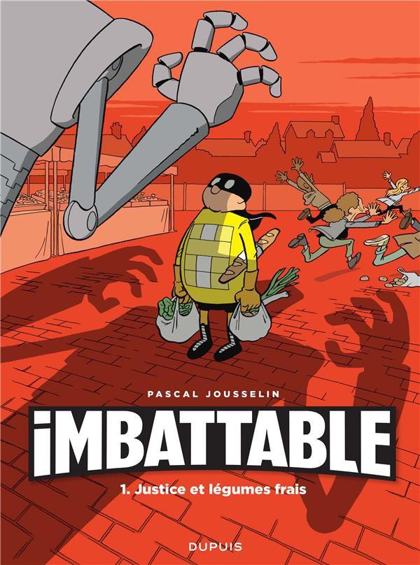 Couverture de Imbattable -1- Justice et légumes frais