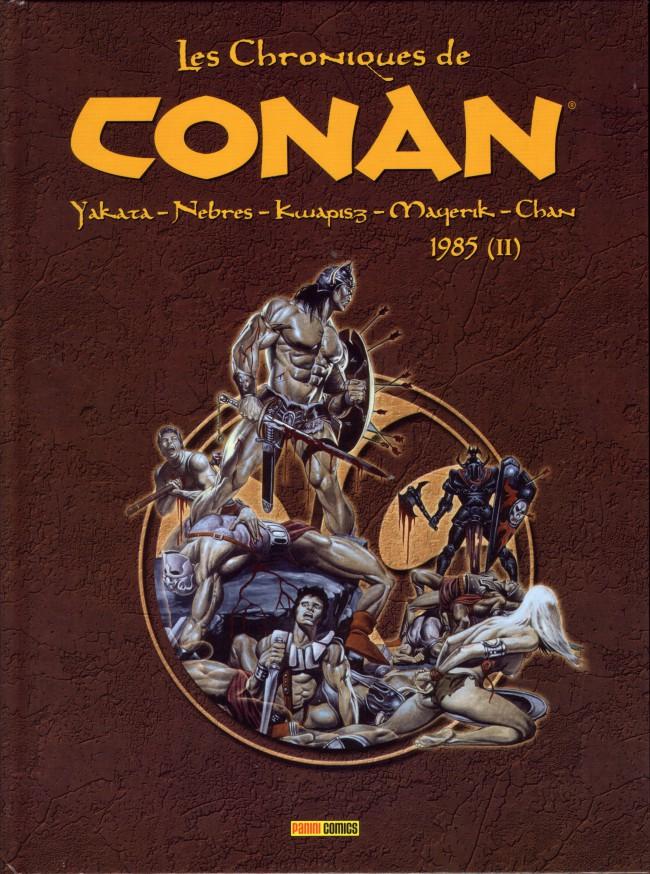 Couverture de Les chroniques de Conan -20- 1985 (II)
