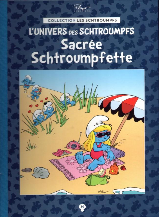 Couverture de Les schtroumpfs - La collection (Hachette) -30- Sacrée Schtroumpfette
