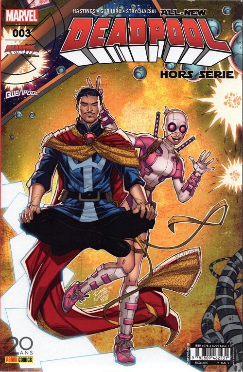 Couverture de All-New Deadpool -HS03- Quand on veut, on peut