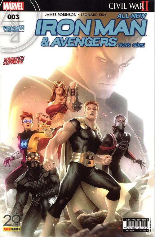 Couverture de All-New Iron Man & Avengers -HS03- Changement de perspective