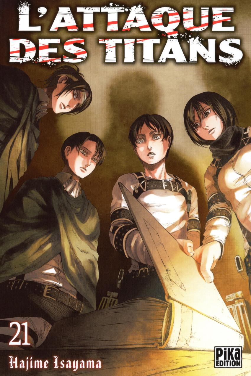 Couverture de L'attaque des Titans -21- Tome 21