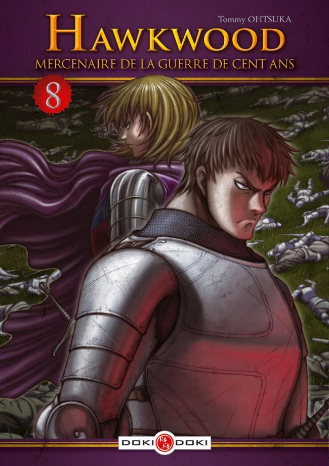 Couverture de Hawkwood : Mercenaire de la Guerre de Cent Ans  -8- Tome 8