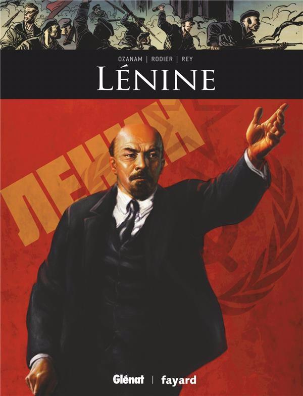 Couverture de Ils ont fait l'Histoire -19- Lénine
