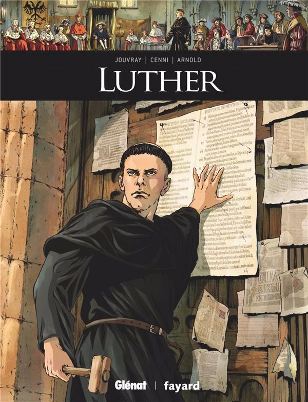 Couverture de Ils ont fait l'Histoire -20- Luther