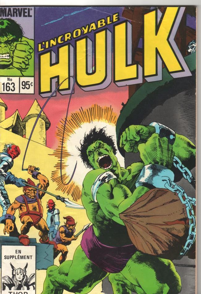 Couverture de L'incroyable Hulk (Éditions Héritage) -163- Grandir est difficile