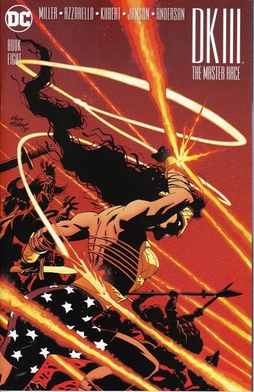 Couverture de Dark Knight III: The Master Race (2016) -8- Book Eight