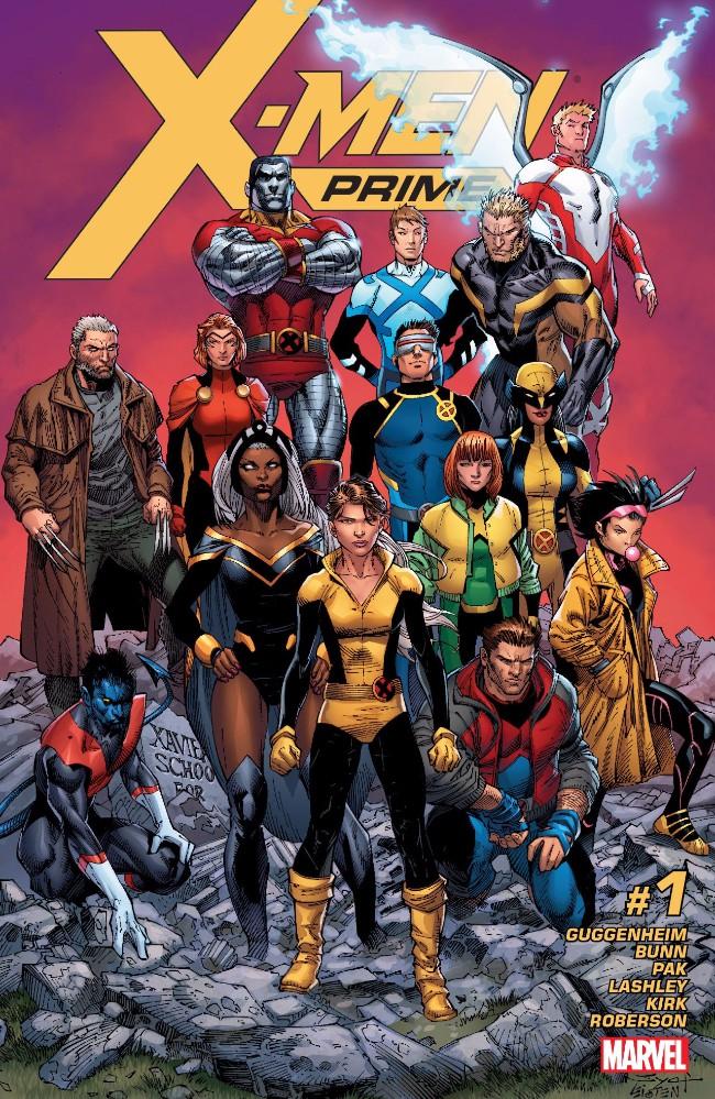 Couverture de X-Men Prime (2017) -1- X-Men Prime