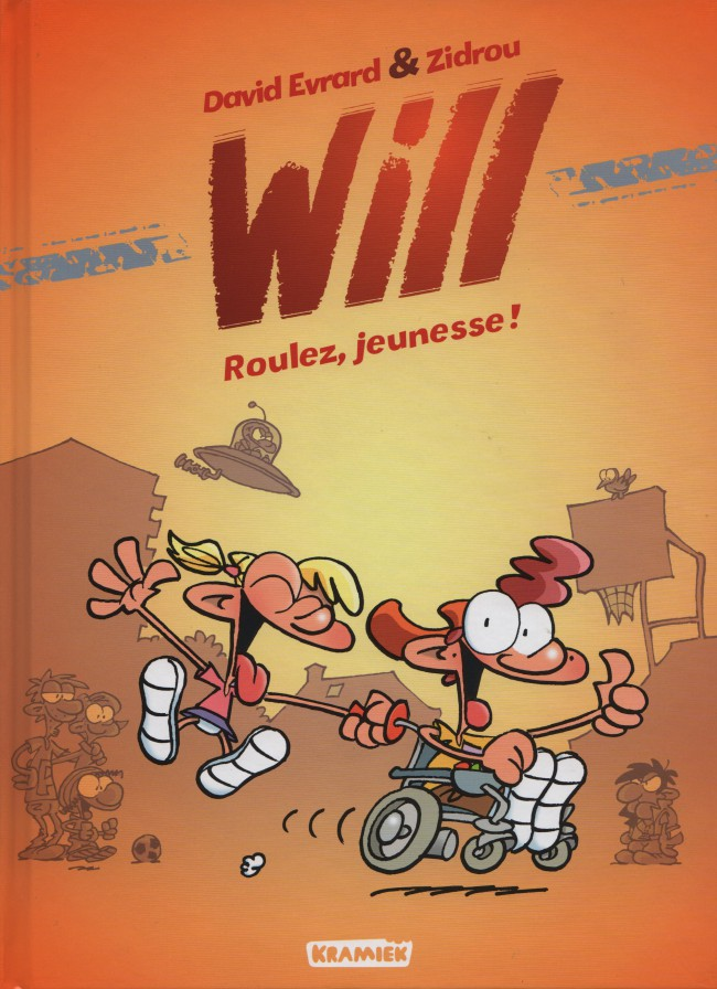 Couverture de Will (Zidrou/Evrard) -1- Roulez, jeunesse !
