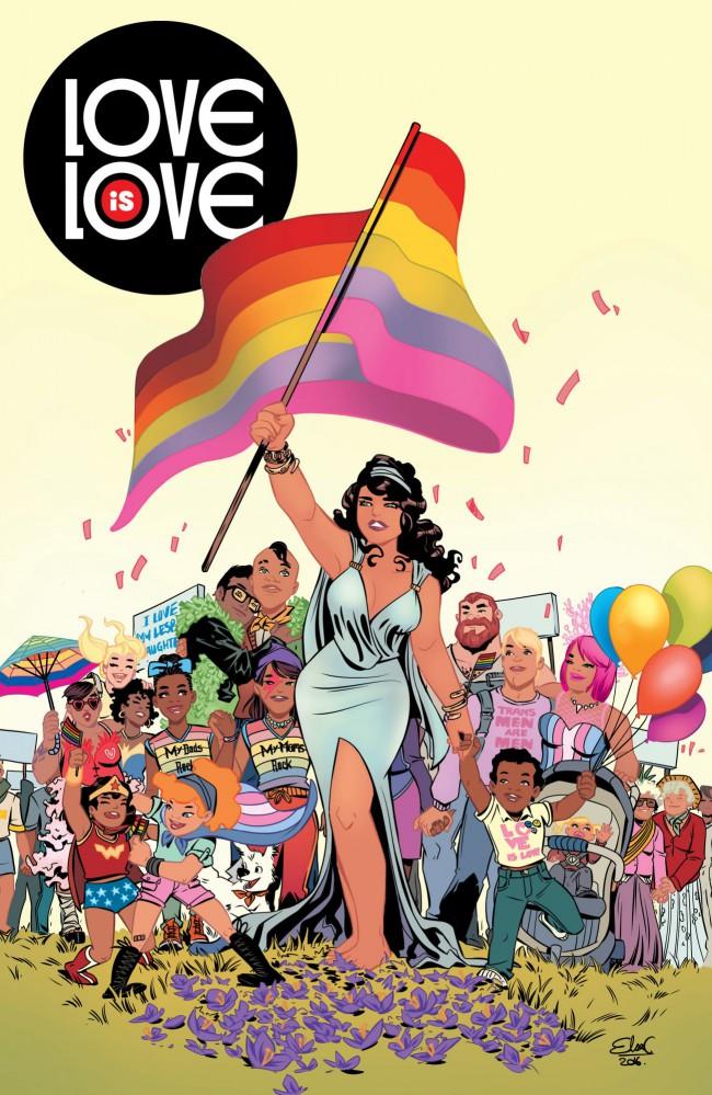 Couverture de Love is Love (2016) - Love is love