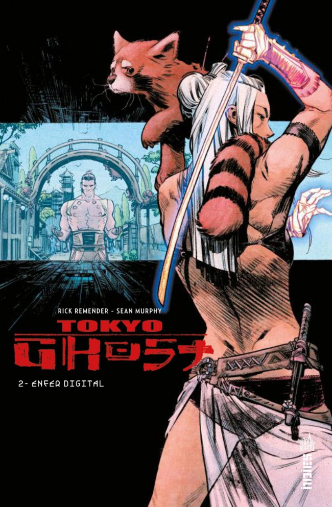Couverture de Tokyo Ghost (Remender/Murphy) -2- Enfer digital