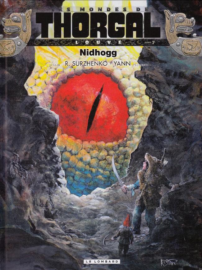 Couverture de Thorgal (Les mondes de) - Louve -7- Nidhogg
