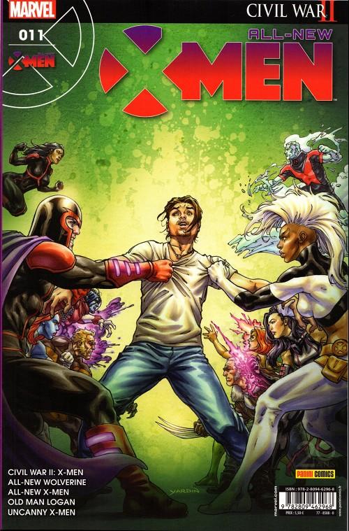 Couverture de All-New X-Men (Marvel France 1re série - 2016) -11- Entre femmes