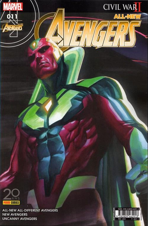 Couverture de All-New Avengers -11- Une vision du futur