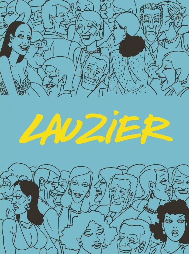 Couverture de Lauzier (Intégrale 2) -INT- Lauzier