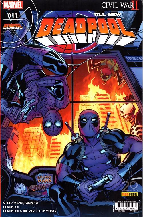 Couverture de All-New Deadpool -11- L'araignée gipsy
