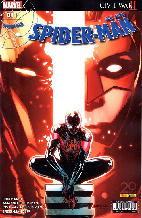 Couverture de All-New Spider-Man -11- Apprendre de ses erreurs