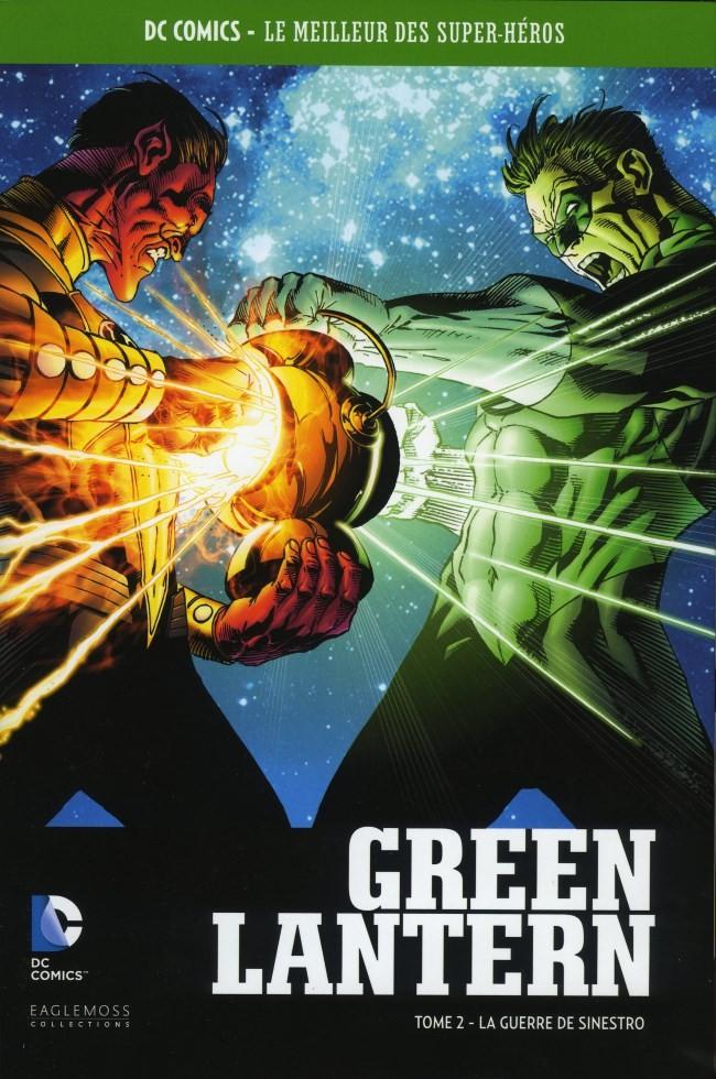 Couverture de DC Comics - Le Meilleur des Super-Héros -Premium02- Green Lantern - Tome 2 - La Guerre de Sinestro