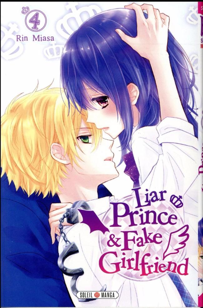 Couverture de Liar Prince & Fake Girlfriend -4- Tome 4