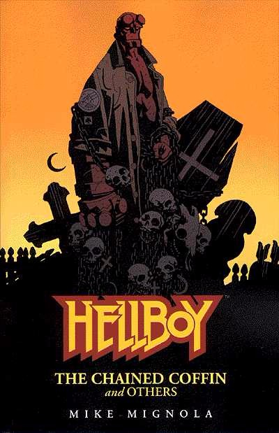 Couverture de Hellboy (1994) -INT03- The Chained Coffin and others