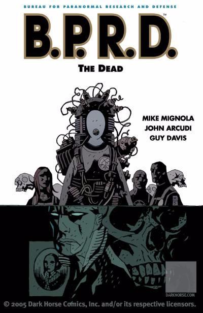 Couverture de B.P.R.D. (2003) -INT04- The Dead