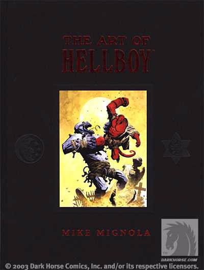 Couverture de Hellboy (1994) -HS- The Art of Hellboy