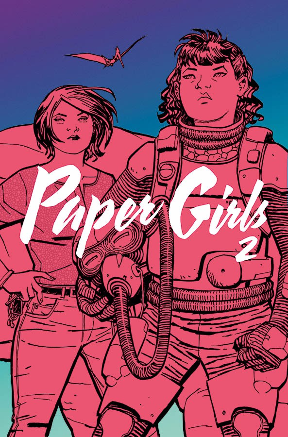 Couverture de Paper Girls (Image comics - 2015) -INT02- Paper Girls 2