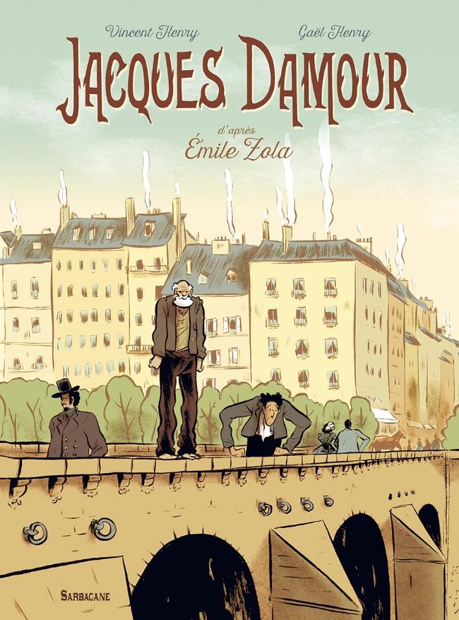 Couverture de Jacques Damour